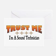 Trust Sound Technician Greeting Cards (Package of