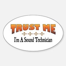 Trust Sound Technician Oval Decal