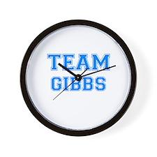TEAM GIBBS Wall Clock