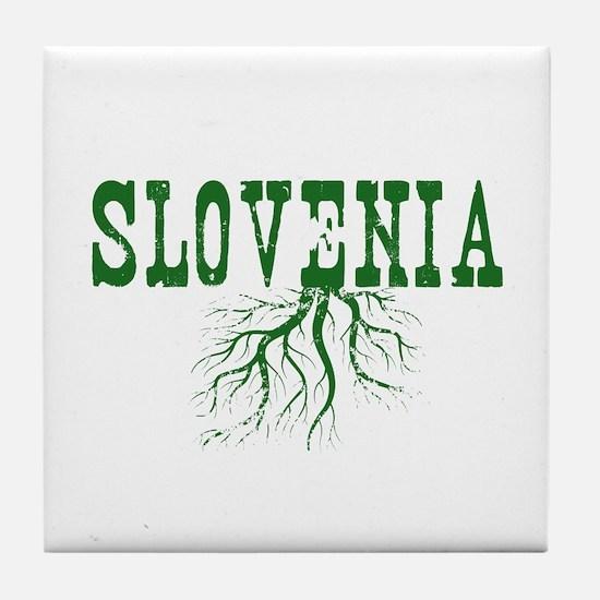 Slovenia Roots Tile Coaster