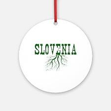 Slovenia Roots Ornament (Round)