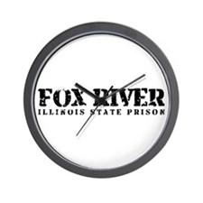 Fox River - Prison Break Wall Clock