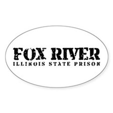Fox River - Prison Break Oval Decal