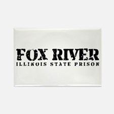 Fox River - Prison Break Rectangle Magnet