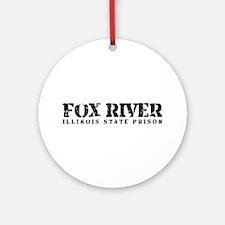 Fox River - Prison Break Ornament (Round)