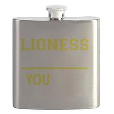 Unique Lioness Flask