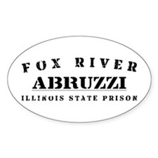 Abruzzi - Fox River Oval Decal
