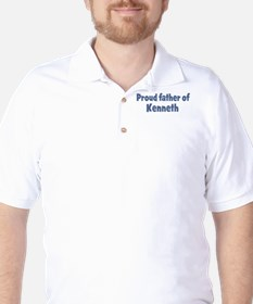 Proud father of Kenneth T-Shirt