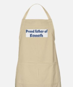 Proud father of Kenneth BBQ Apron
