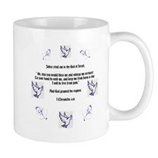 I Chronicles 4:10 Jabez Prayer Mugs