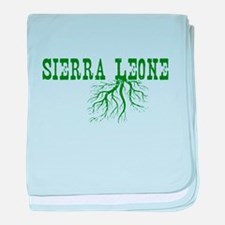 Sierra Leone baby blanket