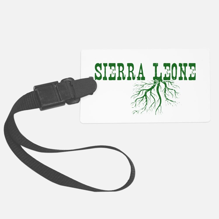 Sierra Leone Luggage Tag