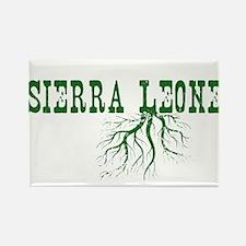Sierra Leone Rectangle Magnet