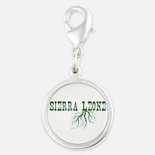 Sierra Leone Silver Round Charm