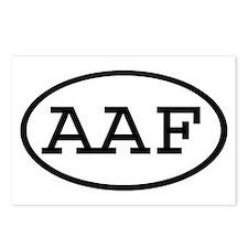 AAF Oval Postcards (Package of 8)