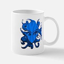 Distorted Alien Blue Mug