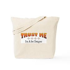 Trust Set Designer Tote Bag