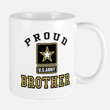 Proud U.S. Army Brother Small Small Mug