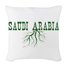 Saudi Arabia Woven Throw Pillow