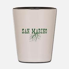 San Marino Shot Glass