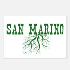 San Marino Postcards (Package of 8)