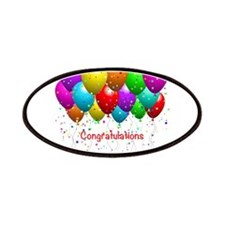 Congratulations Balloons Patches