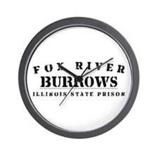 Burrows - Fox River Wall Clock