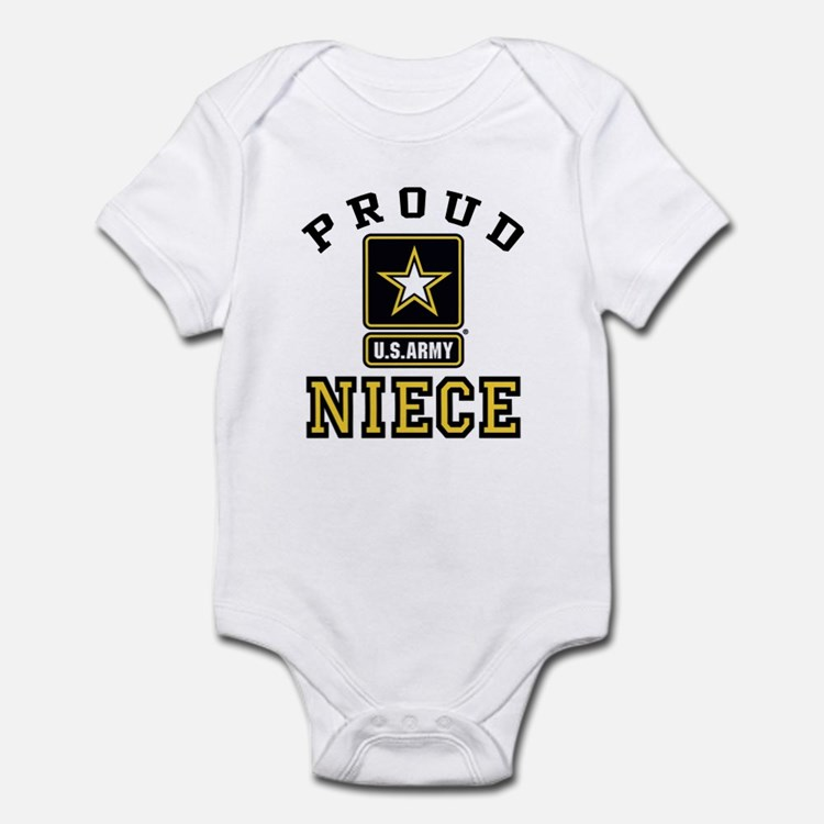 Proud Niece U.S. Army Infant Bodysuit