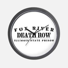 Death Row - Fox River Wall Clock