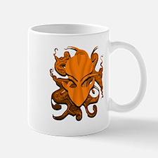 Distorted Alien Orange Mug