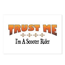 Trust Scooter Rider Postcards (Package of 8)