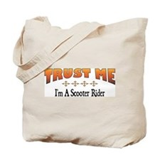 Trust Scooter Rider Tote Bag