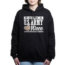 Proud Niece U.S. Army Women's Hooded Sweatshirt