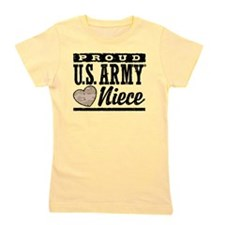 Proud Niece U.S. Army Girl's Tee