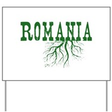Romania Roots Yard Sign