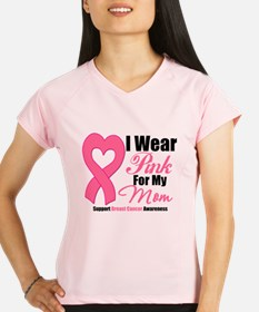 I Wear Pink For My Mommy Performance Dry T-Shirt