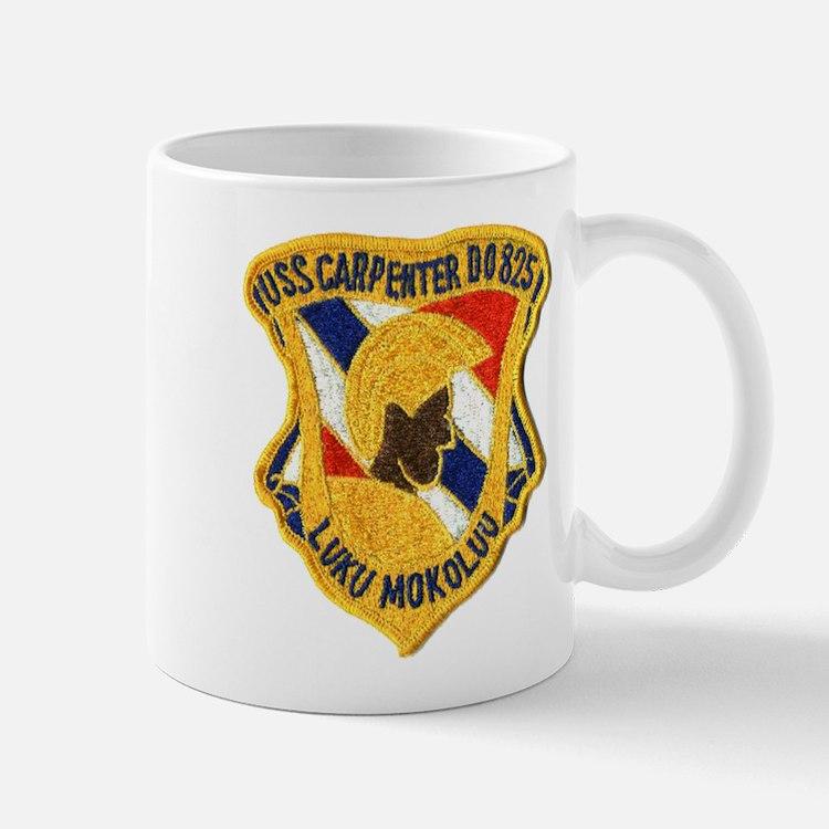 USS CARPENTER Mug