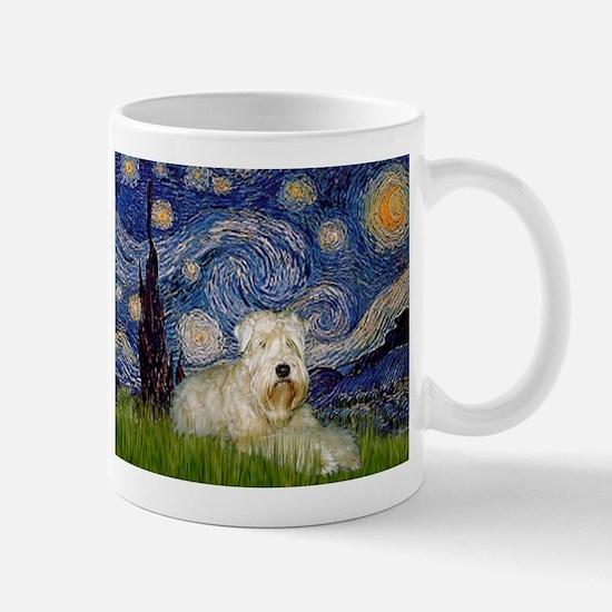 Starry Night & Wheaten Terrier Mug
