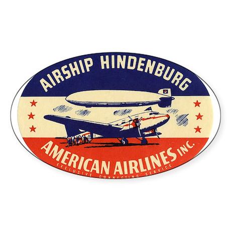 AA - Hindenburg Reproduction Label