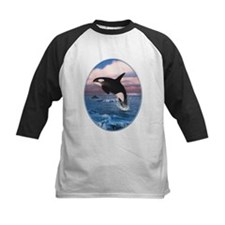 Killer Whales In The Arctic Ocean Baseball Jersey