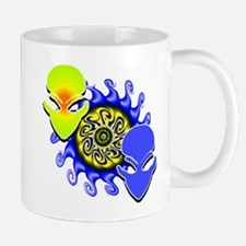 Double Trouble Lime & Blue Mug