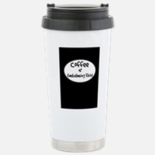 coffee and embalming fl Stainless Steel Travel Mug