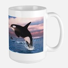 Killer Whales In The Arctic Ocean Mugs