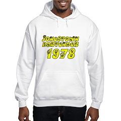 1978 Jonestown Bartender Hooded Sweatshirt