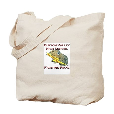 Fighting Pikas Tote Bag