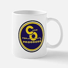 C & O for progress sign Mugs