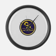C & O for progress sign Large Wall Clock