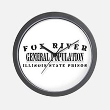 General Population - Fox River Wall Clock