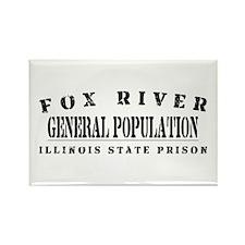 General Population - Fox River Rectangle Magnet