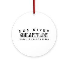General Population - Fox River Ornament (Round)
